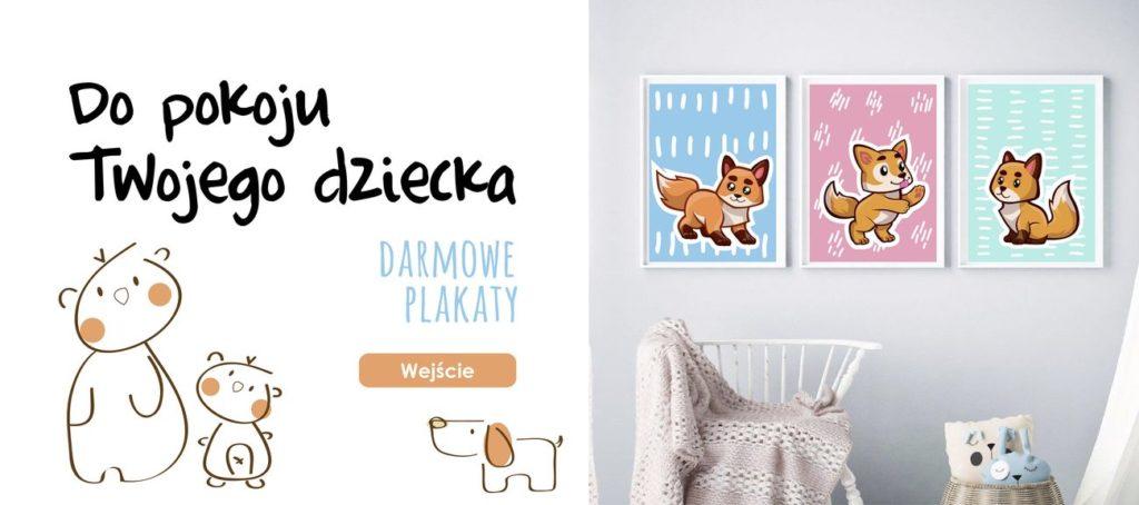 Darmowy plakat do pokoju dziecka