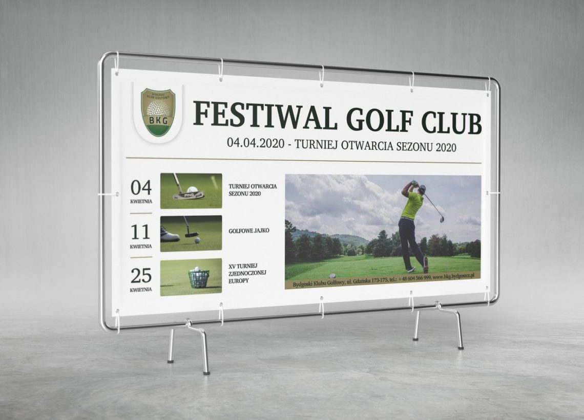 Festiwal Golf Club pole golfowe