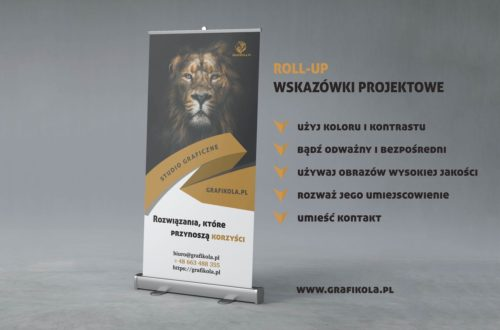 roll-up; rollup; roll-up projekt graficzny; roll-up projekt; roll-up baner; roll-up na targi; roll-up na wystawę; roll-up do pracy; roll-up do firmy; roll-up z kasetą; roll-up poznań; roll-up warszawa; roll-up gdańsk;