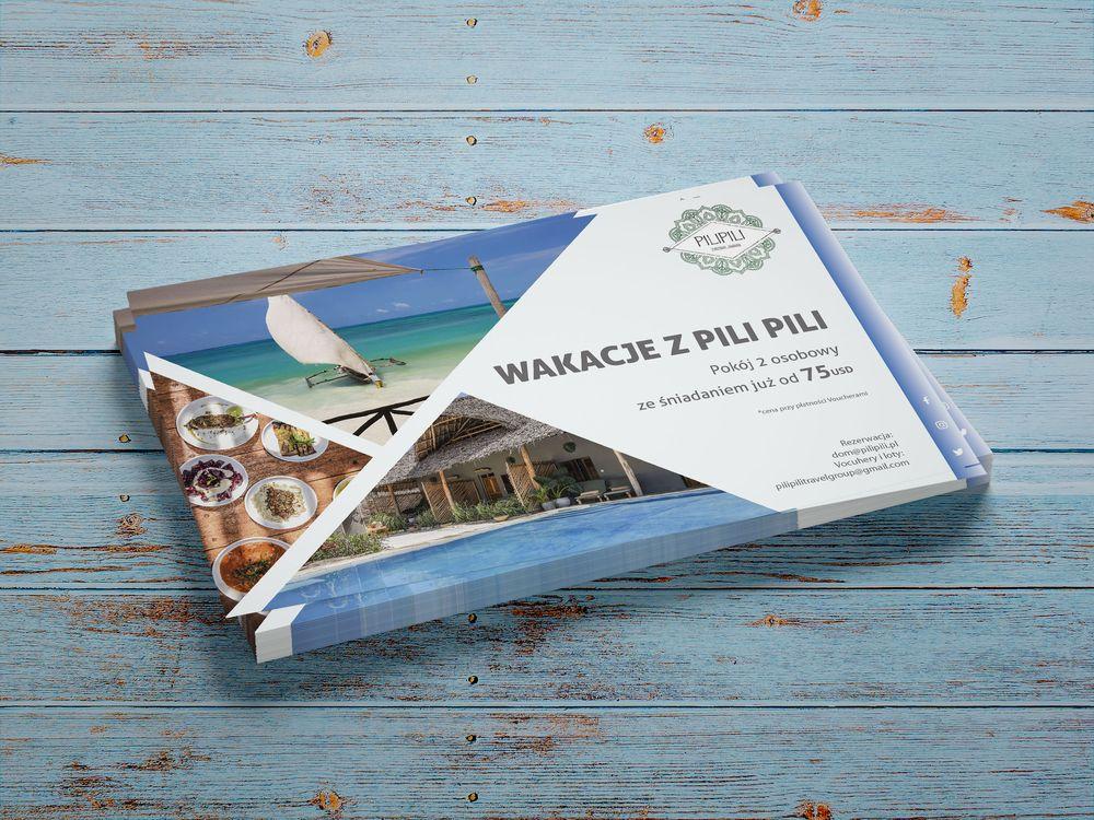 Ulotki wakacje Zanzibar