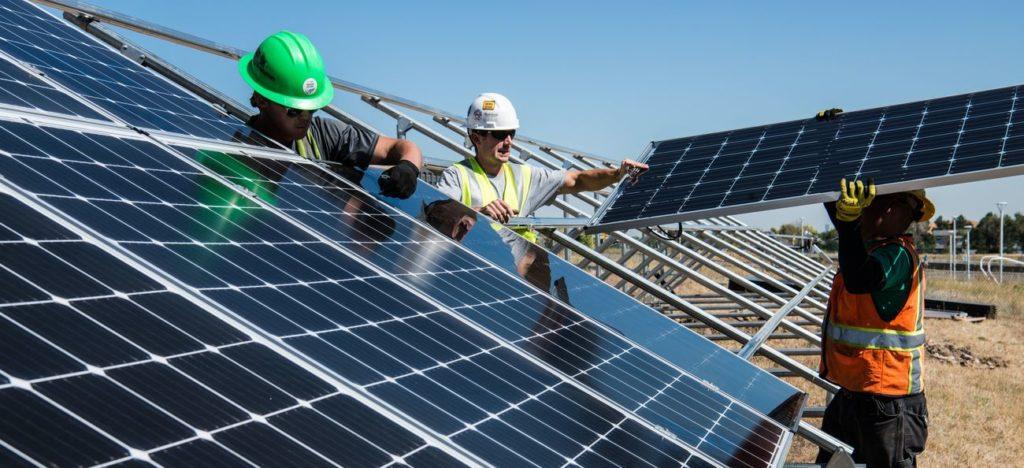 Fotowoltaika panele słoneczne ulotka reklama baner