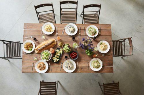 Jedzenie na wynos w restauracji