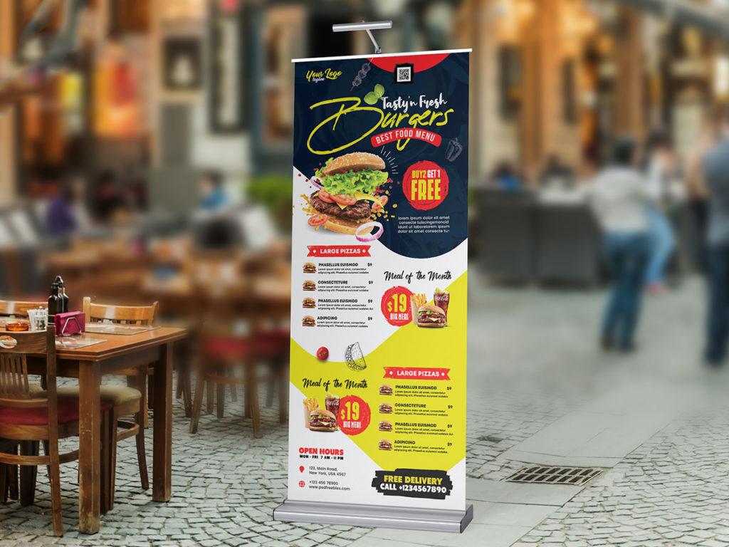 Roll-up restauracji Stary Rynek