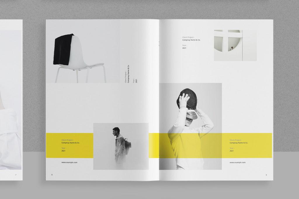 Broszura folder katalog