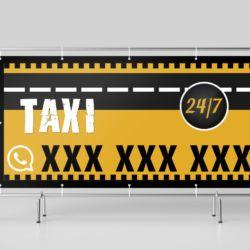 Baner 2x1m - taxi