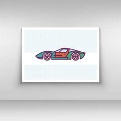 Samochód plakat nr 1