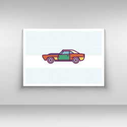 Samochód plakat nr 2