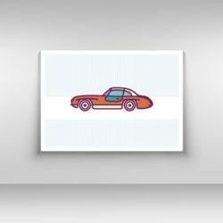 Samochód plakat nr 3
