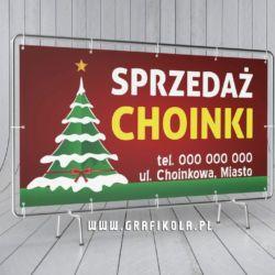 baner-reklamowy-sprzedaż-choinki