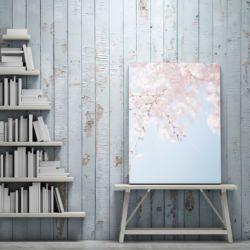 13 - obraz na płótnie - kwiaty wiśni