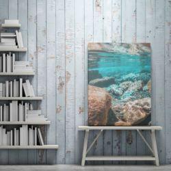 19 - obraz na płótnie - kamienie w wodzie