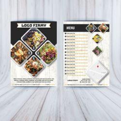 Ulotka gastronomia - nr 2